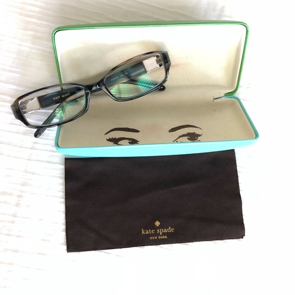 9bb0cc79634a kate spade Accessories - Kate Spade Florence Eyeglasses Frames in Abalone